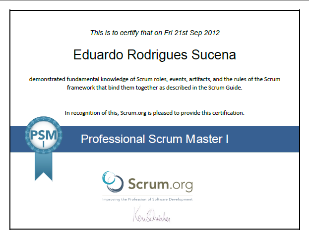 Pass Professional Scrum Master PSM certification in 6 steps